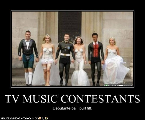 TV MUSIC CONTESTANTS