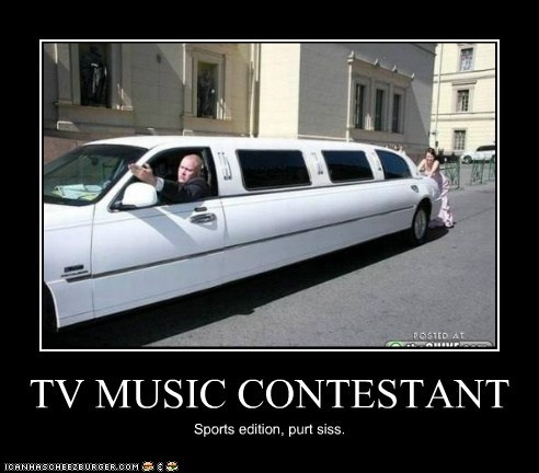 TV MUSIC CONTESTANT