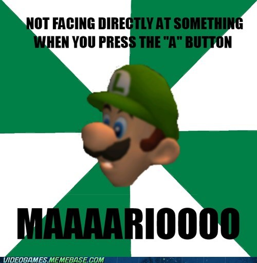 Scumbag Luigi's Mansion