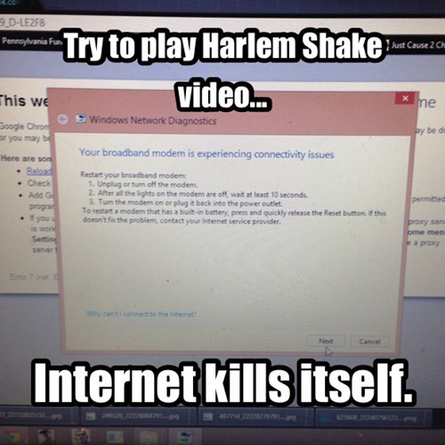 Goodbye Cruel Harlem Shake World