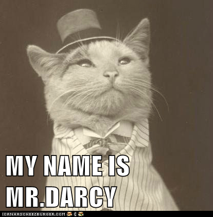MY NAME IS MR.DARCY