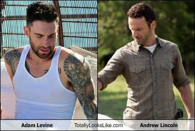 Adam Levine Totally Looks Like Andrew Lincoln