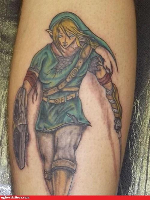 Link Needs a Sports Bra