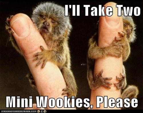 I'll Take Two  Mini Wookies, Please