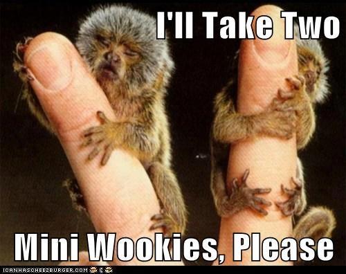 I'll Take Two  Mini Wookies, Please