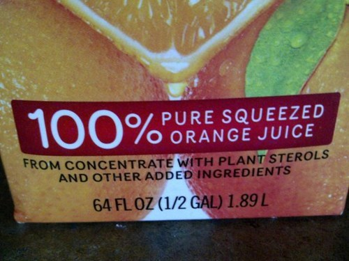 This OJ Has an Identity Crisis