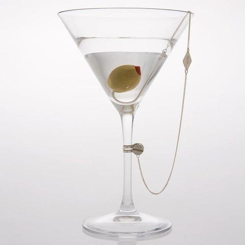 sloshed swag,martini,olive