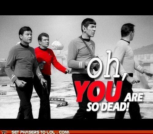 red shirts,Star Trek