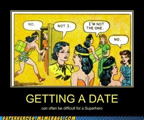 Wonder Woman Needs a Date