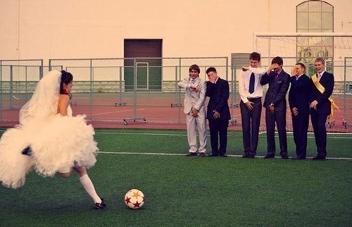 groomsemen,soccer,brides