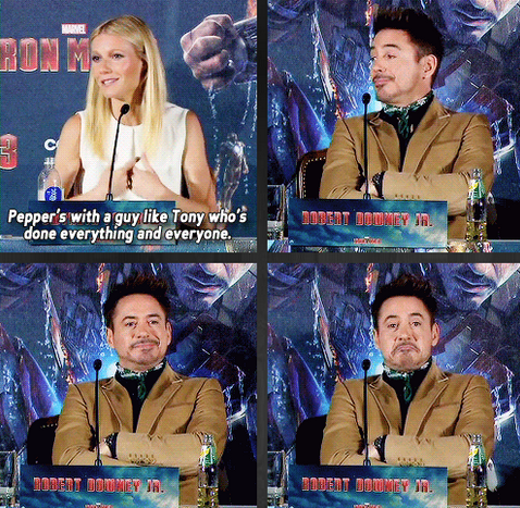 Tony Stark Knows