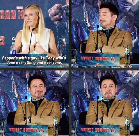 Tony Stark Knows