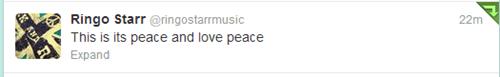 the Beatles,twitter,ringo starr