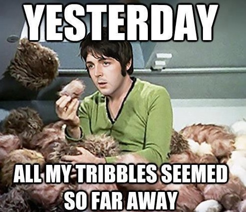 the Beatles,paul mccartney,Star Trek,yesterday,Music FAILS,g rated