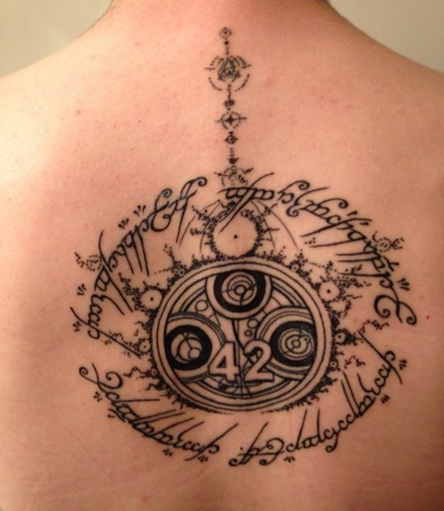 This Nerdtastic Tattoo Crosses Many Streams
