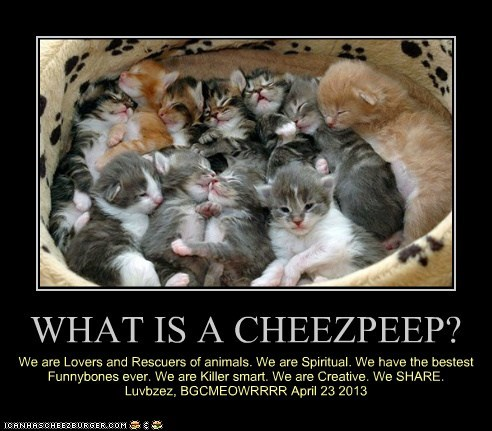 WHAT IS A CHEEZPEEP?