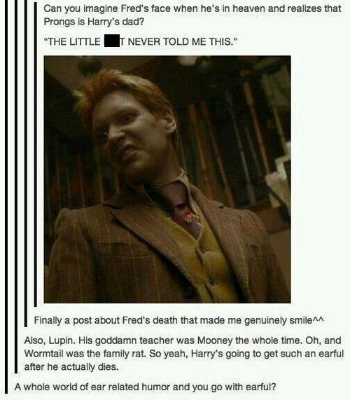 Why Harry Never Told Him?