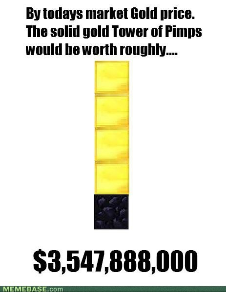The Price of the Tower of Pimps