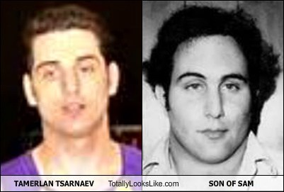 TAMERLAN TSARNAEV Totally Looks Like SON OF SAM