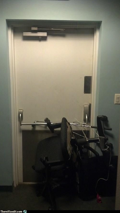 doors,fire hazards,chairs