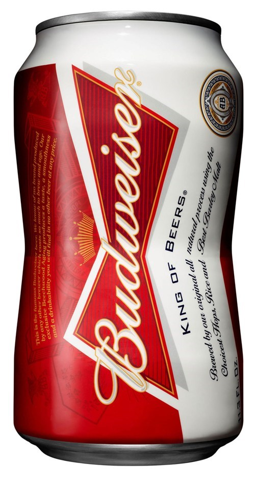 Budweiser Makes a Can That Holds Less Beer Because Screw You That's Why
