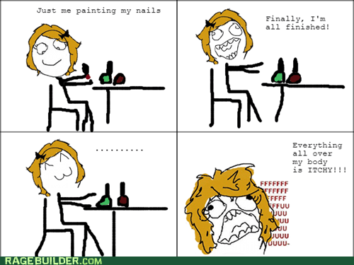 Fresh Nail Polish Rage!