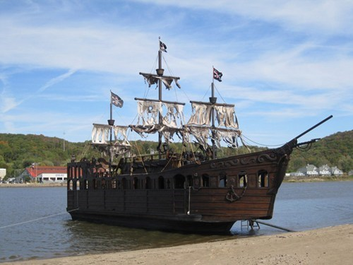Have Some Extra Spending Cash? Why Not Buy This Pirate Ship?