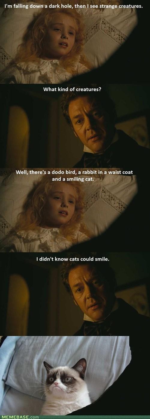 alice in wonderland,Grumpy Cat,movies