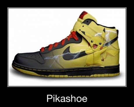 I Choose You, Shockingly Ridiculous Shoe!