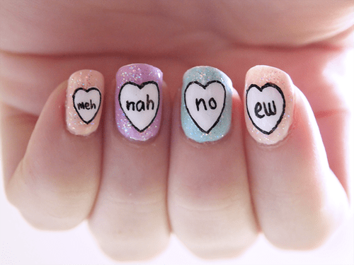 Need to Turn Away Male Suitors? Don't Be Afraid to Use Your Nails