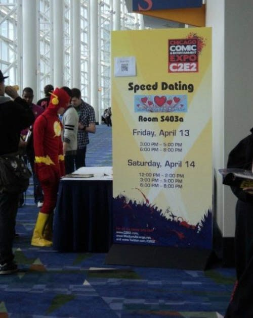 cosplay,speed dating,the flash