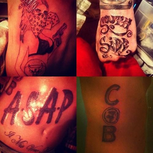 hand tattoos,gangstas,lat tats