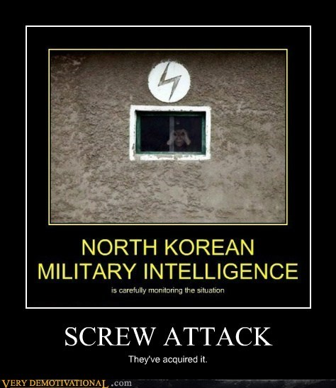 wtf,megaman,North Korea,screw attack