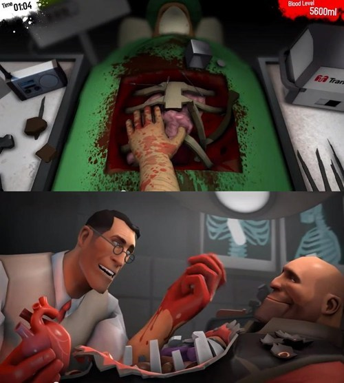 Now We Know Who the Patient is in Surgeon Simulator