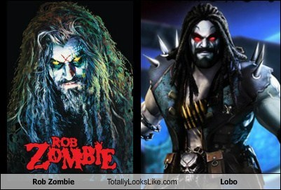 Rob Zombie Totally Looks Like Lobo