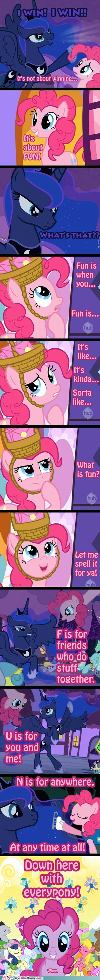 Pinkie is the Best Teacher