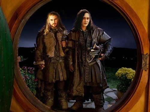 loki,crossover,Thor,fili and kili,The Avengers,The Hobbit