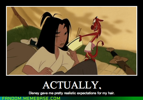 Can I Get You a Comb, Mulan?