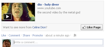 Dio is Short for Celine Dion, Right?