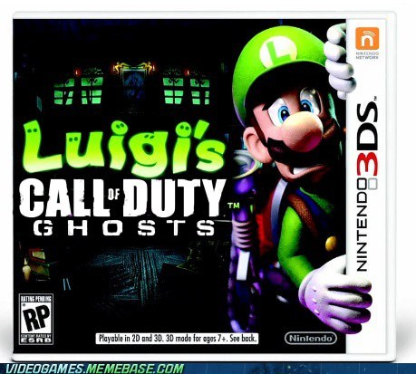 Luigi's Call of Duty: Ghosts