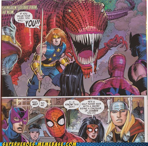 Spidey, you have some interesting acquaintances...