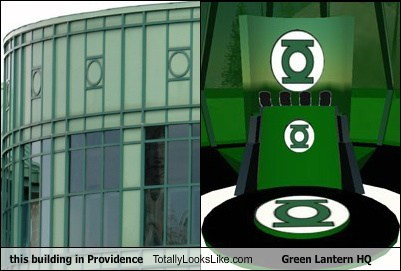 This Building in Providence Totally Looks Like Green Lantern HQ