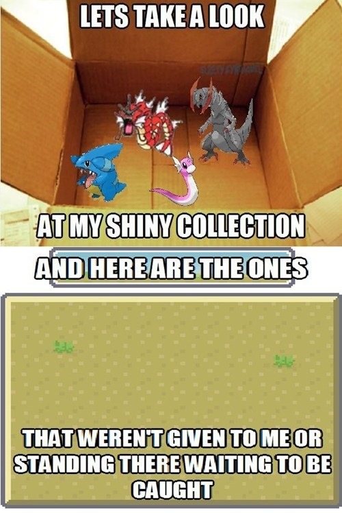 Not Even One Shiny Pokémon After All These Years...