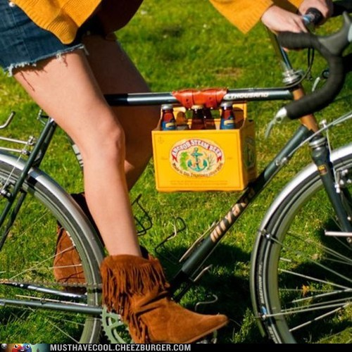 6 Pack holder for your bike.