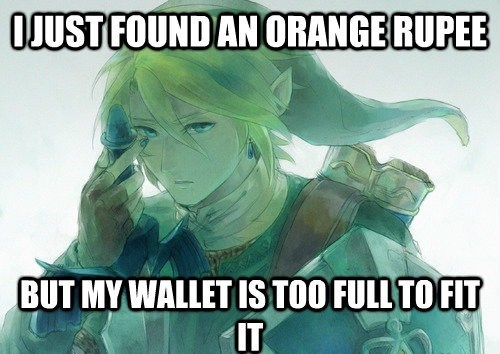 First World Zelda Problems