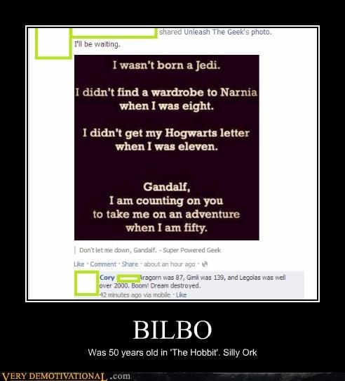 bilbo,The Hobbit,narnia,Jedi