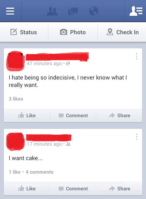 When It Comes to Cake, There's No Decision to Be Made