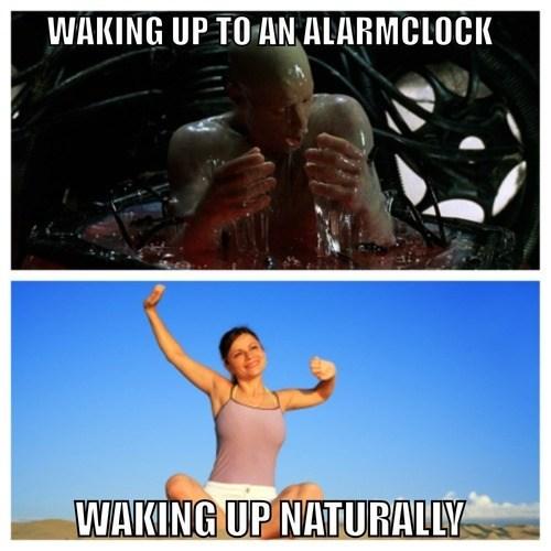 IRL,sleeping,waking up