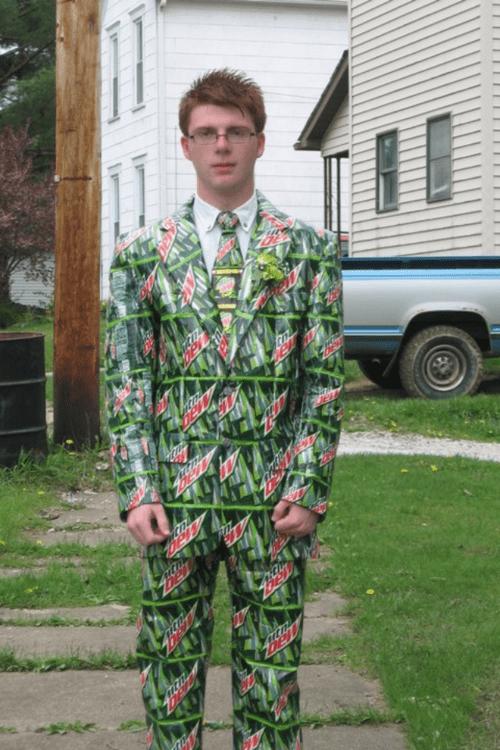 Dew-it-Yourself Suit & Tie