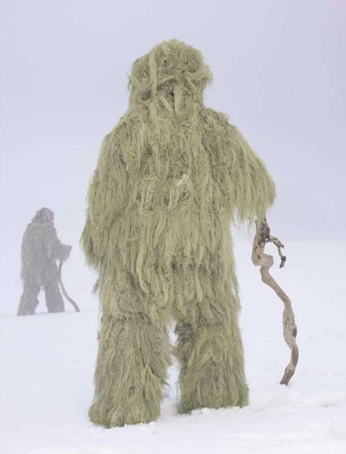 Green Moss Mountain Creature